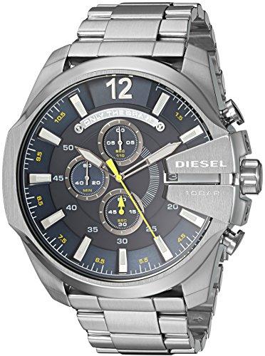 Diesel Reloj Cronógrafo para Hombre de Cuarzo con Correa en Acero Inoxidable DZ4465