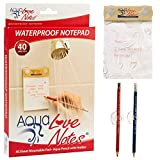 Aqua Love Notes Waterproof Notepad