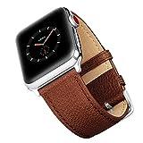 Benuo Echtes Leder Armband für Apple Watch Series 2 - 42mm/ Apple Watch Series 3 with Cellular -...
