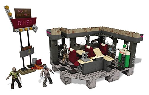 Mega Bloks Call of Duty Zombies TranZit Diner Building Set