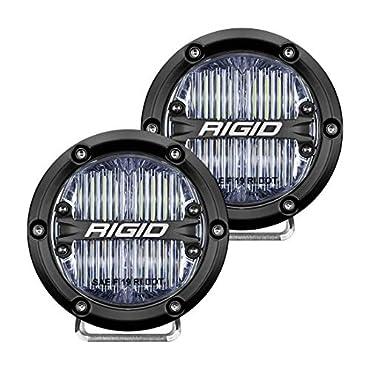 Rigid Industries 36110 360-SERIES 4 INCH SAE J583 FOG LIGHT WHITE | PAIR