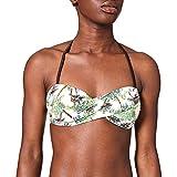 Banana Moon Boro Tops de Bikini, Ecru (Ecru Palmora Iaw11), 38 para Mujer