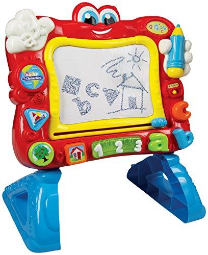 Baby Clementoni-La Pizarra Cantarina Juego Interactivo para Niños, Multicolor (55131.6)