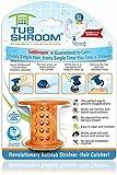 TubShroom Tub Hair Catcher Drain Protector, Fits...