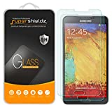 (2 Pack) Supershieldz for Samsung Galaxy Note 3 Tempered Glass Screen Protector, Anti Scratch, Bubble Free