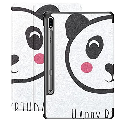 Custodia cinese adorabile carino animale panda selvaggio per tablet per Samsung Galaxy Tab S7   s7 Plus Custodia per Galaxy Tab E Custodia per tablet con cover posteriore 7 pollici per Galaxy Tab S7