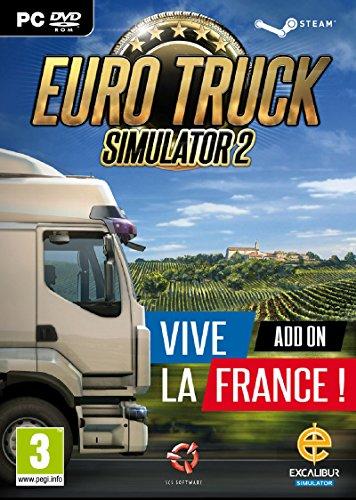 Euro Truck Simulator 2 - Vive La France! Add-On (PC DVD) [UK IMPORT]