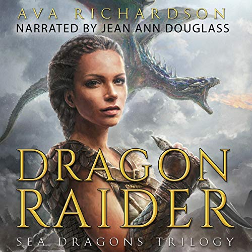 Dragon Raider audiobook cover art
