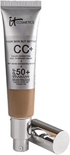IT COSMETICS Your Skin But Better CC Cream with SPF 50+, (Tan) 1.08 oz