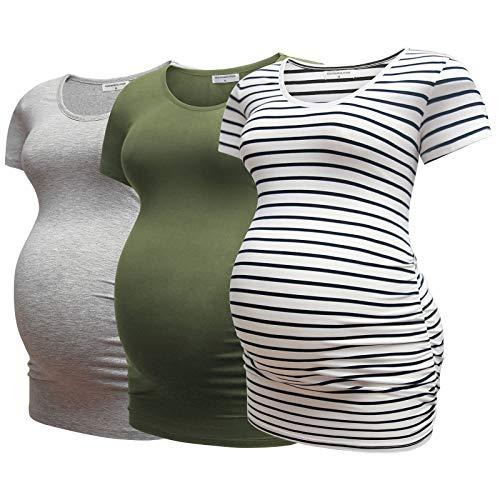 Bearsland Womens Maternity Tshir...