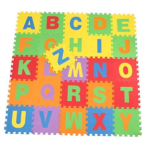 GFFTYX Bébé décoration Chambre Kids Play Mat Multi-Color Puzzle Mat Mousse Accise Safe Floor Tapis de Jeu Idéal pour Les Enfants pour Apprendre et Jouer (Color : Style - 1)
