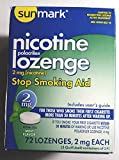 Sunmark Sunmark Nicotine Polocrilex Lozenge, Mint 72 each 2 mg by Sunmark