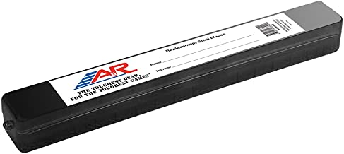 A&R Sports Replacement Steel Blade Case - Black