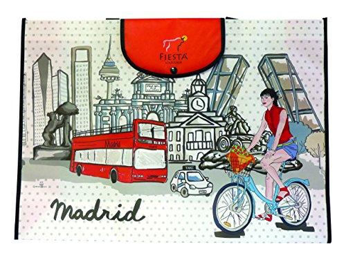 Nadal Sac Courses Madrid vélo, Fibre, Multicolore, 55x 40x