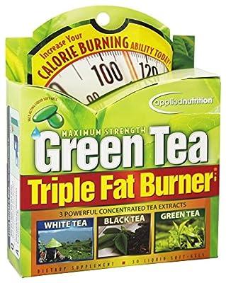 Applied Nutrition - Green Tea Triple Fat Burner - 30 Softgels by Applied Nutrition