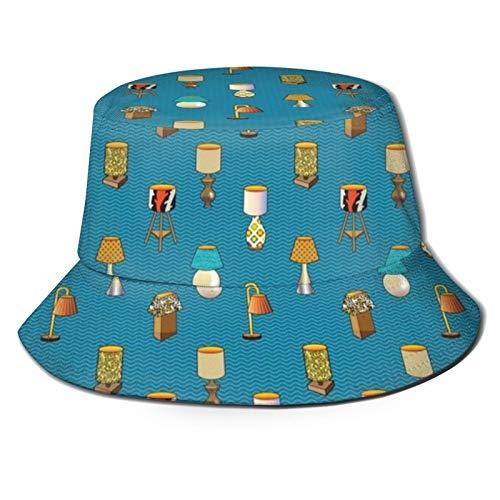 Lámparas y Iluminación Vintage Retro Moderno Familia Sombreros de Ala Ancha, Viajes Verano Senderismo Deportes Playa Sombrero de Sol al aire libre Gorra Pescador Sombreros Unisex
