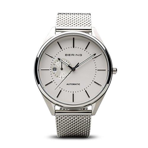 BERING Herren-Armbanduhr Analog Automatik Edelstahl 16243-000