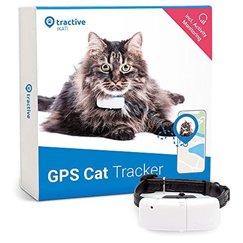 Tractive GPS Cat Tracker with Custom Cat Collar, Follow...