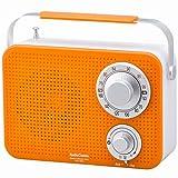 キッキン・シャワーラジオ オレンジ RAD-T380N-D AudioComm 07-8611