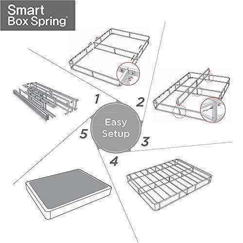 Sommier intelligent en métal Zinus de 7 po - format simple (1 place) - 4