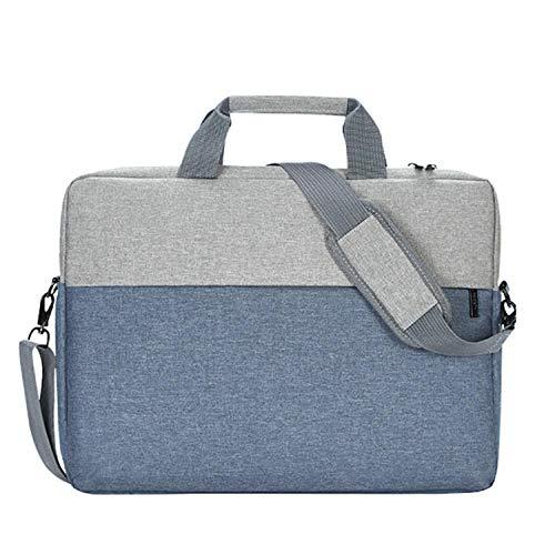 Yinghao Laptop Bag 15 6 Laptop Sleeve Bag Funda de 14 Pulgadas para Macbook Pro 15 Air 13 Bolso de Hombro para Laptop para ASUS HP DELL Acer@Gris_para 14 Pulgadas