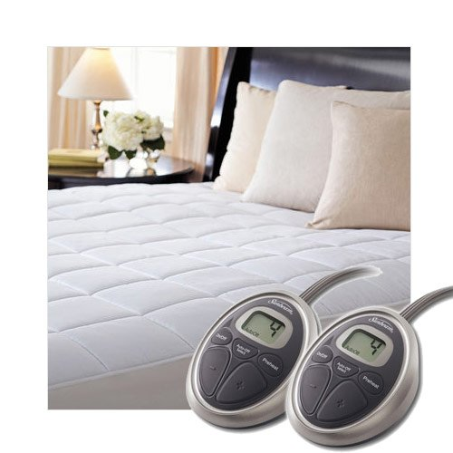 Sunbeam SelectTouch Premium Quilted Electric Heated Mattress Pad - King Size