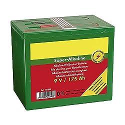 Super-Alkaline Patura Weidezaun- Batterie 9 V / 55 Ah