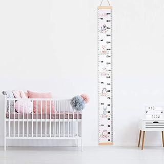 Tukistore Tableau de la Croissance des Enfants, Bébé Toise Murale àsuspendre Règle pour Enfants Chambre à Coucher Chambre ...