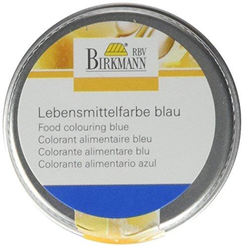 Birkmann 503021 Lebensmittelfarbe, konzentriertes Pulver, 10 g, blau
