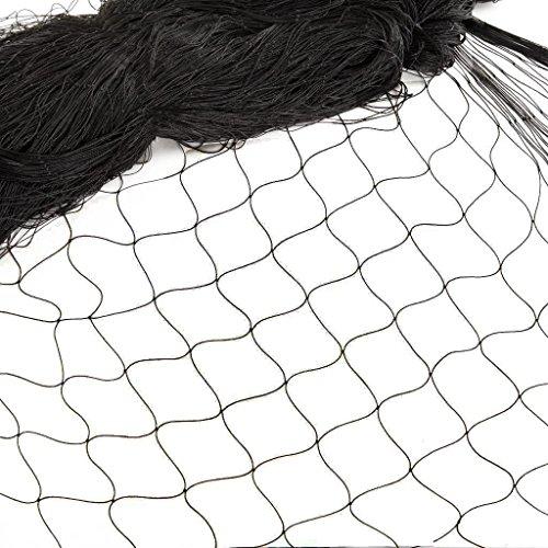 12*4M Filet de Protection Oiseaux Anti-feuilles Anti-oiseaux Clôture pour animaux et plantes jardin Pigeon Agriculture Volaille Jardin Élevage Arbre fruiter Balcon Bassin Maillage Maille 2,5cm