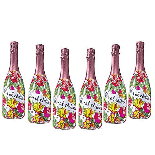 Sparpaket Valdo Rosé Brut Floral Edition (6 x 0,75l) mit Valdo Flaschenverschluß