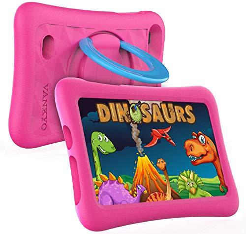 Tablette Enfants 32GB Stockage, VANKYO 7 Pouces Tablette...