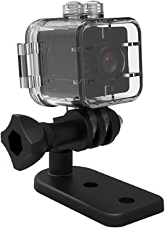 SQ12 Mini cámara Resistente al Agua HD 1080P DVR Lente Gran Angular cámaras de Video Deportivo Gran Angular visión Nocturna detección de Movimiento videocámara indetectable Micro Nanny CAM