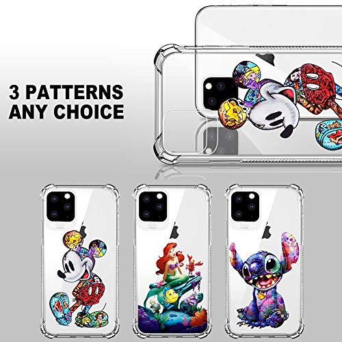 DISNEY COLLECTION iPhone 11 Pro Max Case 2019 6.5 Inch Colorful Mickey Soft Flexible TPU Ultra-Thin Shockproof…