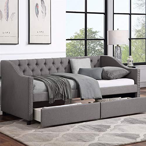Harper & Bright Designs Upholstered Daybed
