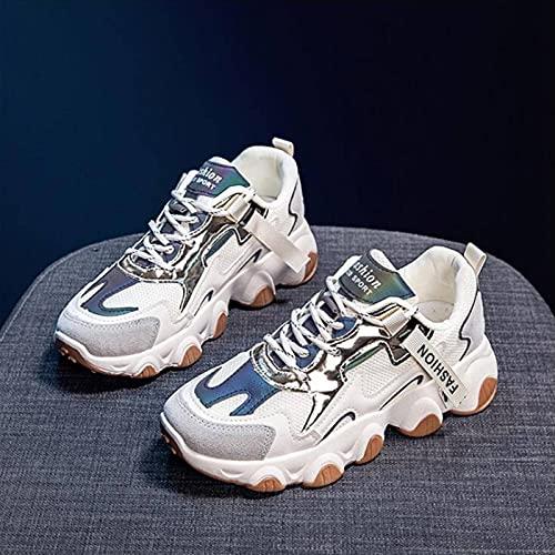 N\C Calzado Deportivo para Mujer Calzado para Correr Plano para Mujer Calzado de Entrenamiento Calzado Deportivo clásico de Moda