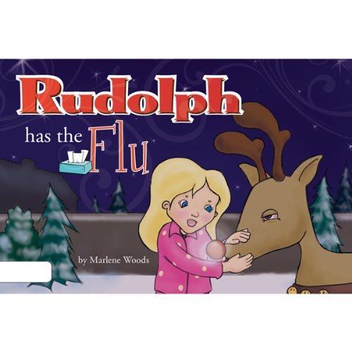Rudolph has the Flu audiobook cover art