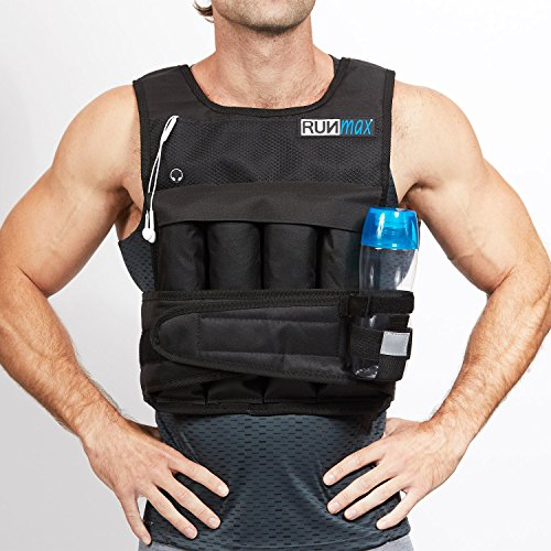RunMax 12lbs to 140lbs Adjustable Weighted Vest