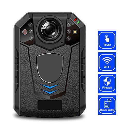 AKKSKY Police Body Camera HD 1296P Infrarood nachtzicht IR-lens 145 ° groothoek-time-opnamefunctie opname met één klik