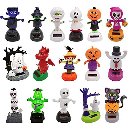 ZXXX Halloween Solar Toys Dancing Figure Car Dashboard Dolls Accessories Indoor Decorations Horror Ornaments Decor