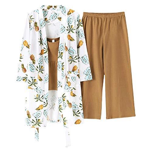 Conjuntos de Pijamas para Mujeres Pijamas de Kimono Mujeres Tallas Grandes Ropa de casa para el hogar Batas de Mujer Traje de Dormir