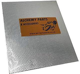 Alchemy Parts Autoadhesivo Escape Motor Protección Térmica