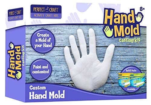 Perfect Craft Hand Mold, Cast & Paint Kit with Perfect Cast Casting Material