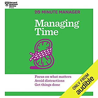 Managing Time audiobook cover art