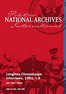 Longines Chronoscope Interviews, 1951, v.8: Max Thornburg, Allan Kline
