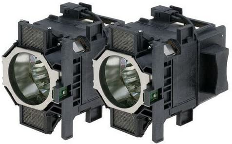 Epson V13H010L73 DUAL LAMP KIT CONTAINING 2 EPSON ELPLP72 Compatible projector lamp