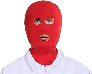 Adult Unisex Lycra Spandex Zentai Mask Open Eyes Mouth Hood