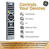 GE 33709 Ultra Pro Universal Remote Control, 4 Device