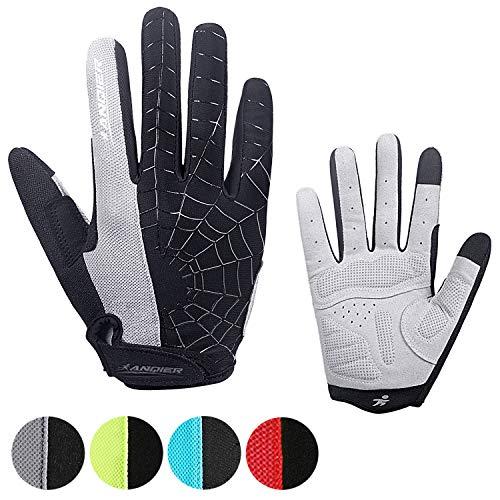 coskefy Cycling Gloves Mountain Road Bike Gloves Gel Padded Riding Gloves MTB Gloves Outdoor Sports Gloves (Half Finger & Full Finger)