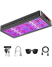BESTVA DC Series 4000W LED Grow Light Full Spectrum Dual-Chip Growing Lamp for Hydroponic Indoor Plants Veg and Flower